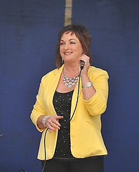 Louise Morrisey and her band from Tipperary provided the entertainment at Murrisk Pattern Day on sunday last.<br /> Pic Conor McKeown