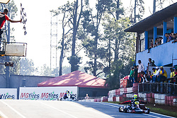 June 23, 2018 - Cotia, Brazil - COTIA, SP - 23.06.2018: OPEN BRASILEIRO DE KART - Open Brazilian Kart Championship being held this weekend at Kartódromo Granja Viana, in Cotia, in Greater São Paulo and already has more than 170 registered drivers. The competition is the final preparation before the 53rd Brazilian Kart, which for the first time will also be hosted at the KGV between July 9 and 21. Do not highlight the victory of pilot João Cunha in the Senior category A. (Credit Image: © Emerson Santos/Fotoarena via ZUMA Press)