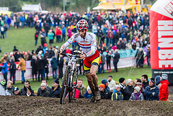 Ian Field (GBR), Men Elite, Cyclo-cross World Cup Hoogerheide, The Netherlands, 25 January 2015, Photo by Thomas van Bracht / PelotonPhotos.com