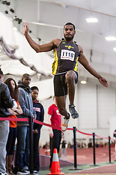 Boston University John Terrier Classic Indoor Track & Field: mens long jump, adidas GSTC, Kirkland