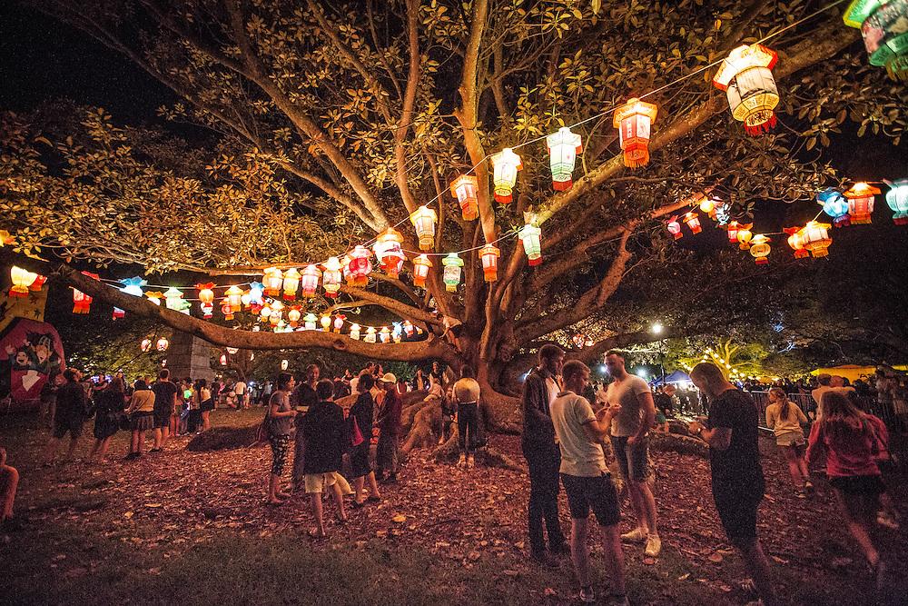 Auckland lantern Festival 2016. Auckland Domain.  February 2016. Photo:Gareth Cooke