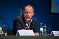 DEU, Deutschland, Germany, Berlin, 25.09.2017: Wahlforscher Dr. Nico Siegel (Infratest dimap) zu den Ergebnissen der Bundestagswahlen.