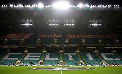 General view of the ground before the UEFA Europa League, Group B match at Celtic Park, Glasgow.