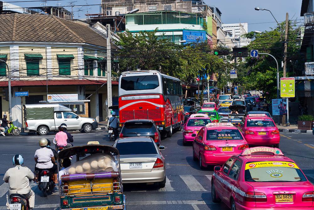 Traffic, Bangkok, Thailand