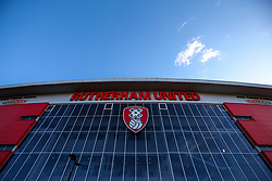 A general view of The Aesseal New York Stadium, home to Rotherham United - Mandatory by-line: Robbie Stephenson/JMP - 18/01/2020 - FOOTBALL - Aesseal New York Stadium - Rotherham, England - Rotherham United v Bristol Rovers - Sky Bet League One