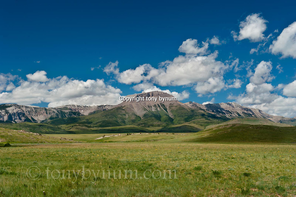 ear mountain, russel country, montana, usa,