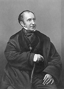 Roderick Impey Murchison 1792-1871) Scottish geologist, c1860.  Defined Silurian system, 1835, Permian system, c1845, and in cooperation with Adam Sedgwick (1785-1873), the Devonian system. Fellow of the Royal Society, 1826. Director-general of the Geological Survey, 1855. President of the Royal Geographical Society, 1843. From 'The Illustrated News of the World',  (London, c1861). Engraving.