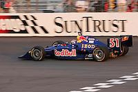 Alex Barron at the Richmond International Raceway, SunTrust Indy Challenge, June 25, 2005