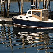 Boat in Stonington Harbor