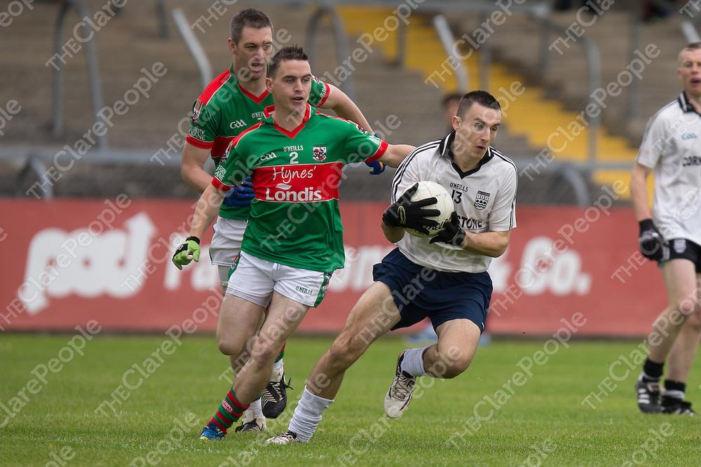 Kilmurry Ibrickane's Martin McMahon V Ennistymon's Sean McConigley