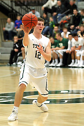 25 November 2014:  Joel Pennington during an NCAA mens division 3 CCIW basketball game between the Milwaukee School of Engineering Raiders and the Illinois Wesleyan Titans in Shirk Center, Bloomington IL