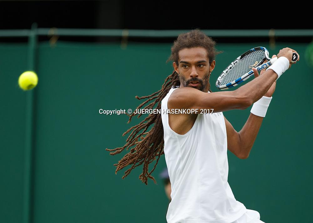 DUSTIN BROWN (GER)<br /> <br /> Tennis - Wimbledon 2017 - Grand Slam ITF / ATP / WTA -  AELTC - London -  - Great Britain  - 3 July 2017.