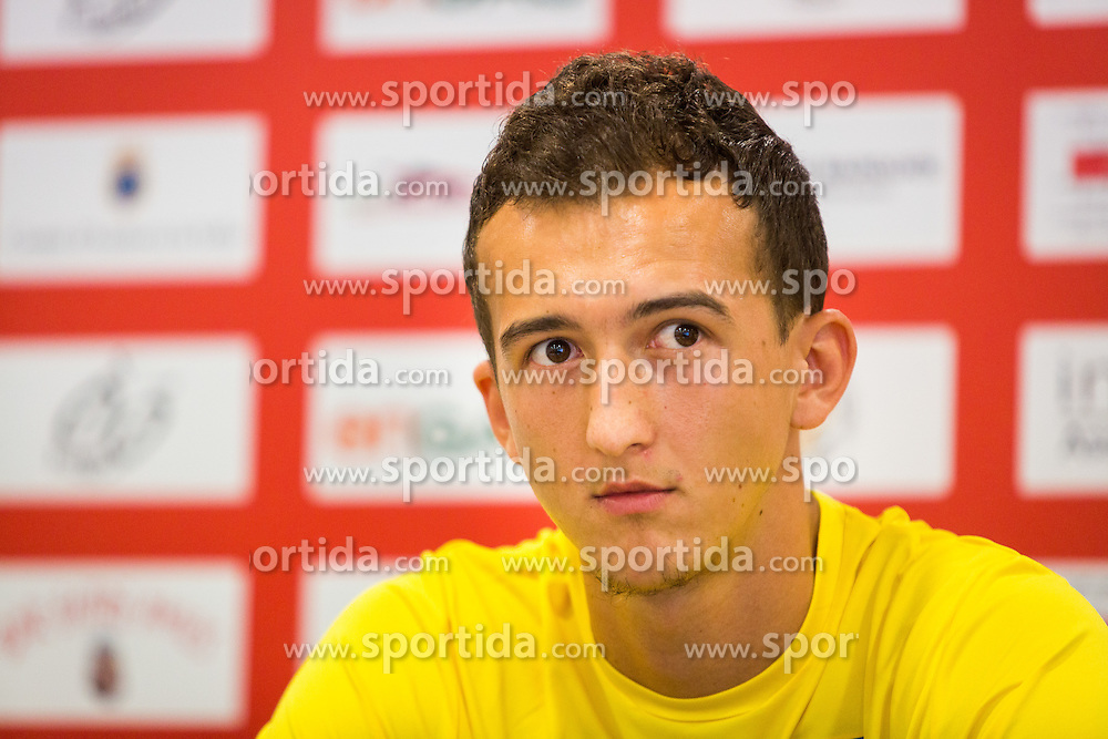Kenan Horic of NK Domzale during practice session before football match between NK Domzale and FC Lusitanos Andorra in second leg of UEFA Europa league qualifications on July 6, 2016 in Andorra la Vella, Andorra. Photo by Ziga Zupan / Sportida