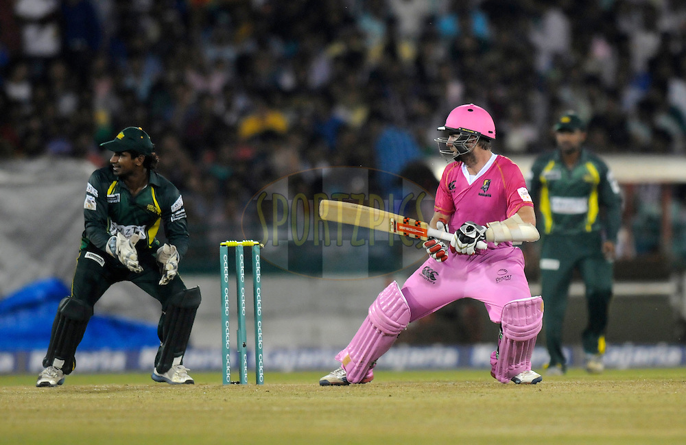Kane Williamson of Northern Districts bats during the qualifier 1 match of the Oppo Champions League Twenty20 between the Northern Knights and the Southern Express held at the Chhattisgarh International Cricket Stadium, Raipur, India on the 13th September 2014<br /> <br /> Photo by:  Pal Pillai / Sportzpics/ CLT20<br /> <br /> <br /> Image use is subject to the terms and conditions as laid out by the BCCI/ CLT20.  The terms and conditions can be downloaded here:<br /> <br /> http://sportzpics.photoshelter.com/gallery/CLT20-Image-Terms-and-Conditions-2014/G0000IfNJn535VPU/C0000QhhKadWcjYs