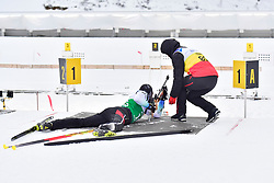 EHLER Alexander, GER, LW4 at the 2018 ParaNordic World Cup Vuokatti in Finland