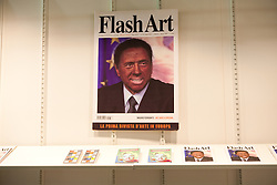 Berlusconi on Flash Art Cover
