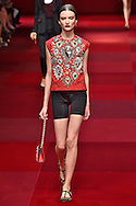 Dolce Gabbana<br /> Milan Fashion Week  Spring Summer 15 Milan September 2014