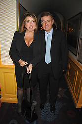 SIR NICHOLAS LLOYD and his wife EVE POLLARD at a party to launch Crosley Diamonds at Annabels, Berkeley Square, London on 15th November 2007.<br /><br />NON EXCLUSIVE - WORLD RIGHTS
