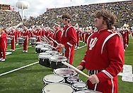 October 31, 2009: The Indiana Marching Band plays before the Iowa Hawkeyes' 42-24 win over the Indiana Hoosiers at Kinnick Stadium in Iowa City, Iowa on October 31, 2009.