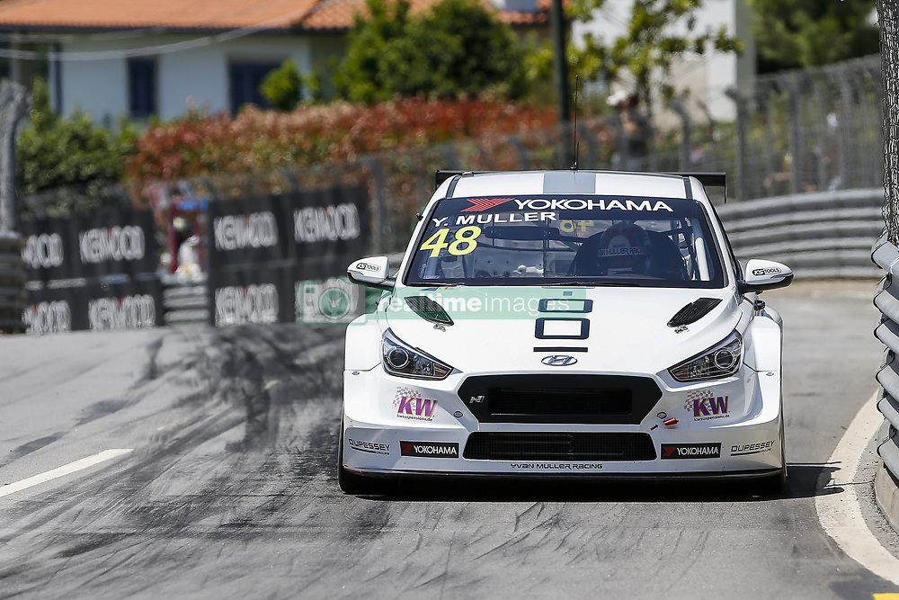 June 23, 2018 - Vila Real, Vila Real, Portugal - Yvan Muller from France in Hyundai i30 N TCR of MRacing - YMR during the Race 1 of FIA WTCR 2018 World Touring Car Cup Race of Portugal, Vila Real, June 23, 2018. (Credit Image: © Dpi/NurPhoto via ZUMA Press)