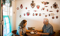 Santa Fe, New Mexico - September 26, 2014: Kakawa Chocolate House is known for it's chocolate  drinks and other decadent chocolates that feature ancient recipes from Mesoamerica and medieval Europe and often infuse chiles for a welcome kick. CREDIT: Chris Carmichael for the New York Times