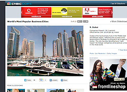 tearsheet from CNBC.com, Dubai