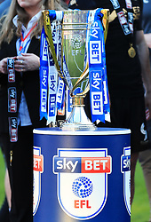 Free to use courtesy of Sky Bet - The Sky Bet League One trophy - Mandatory by-line: Matt McNulty/JMP - 05/05/2018 - FOOTBALL - The Keepmoat Stadium - Doncaster, England - Doncaster Rovers v Wigan Athletic - Sky Bet League One