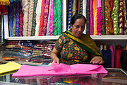 9 December 2013. Kirandeep Sharma, who was in an unsuccessful arranged marriage now works at a tailor shop in Manhattan. Photo by Sehar Mughal/NYCity Photo Wire