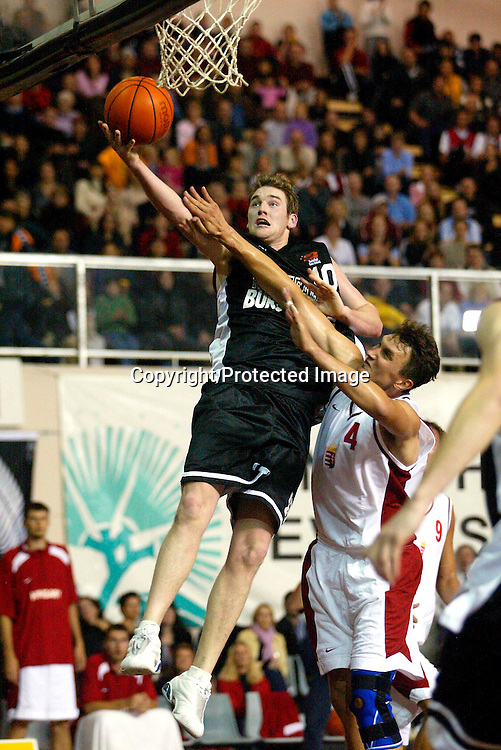 05 July, 2002<br />@ North Shore Event Centre, Auckland, New Zealand<br /><br />New Zealand Tall Blacks v Hungary<br />New Zealand won the game 84-81<br />Dillon Boucher<br />Picture : Chris Skelton / Photosport