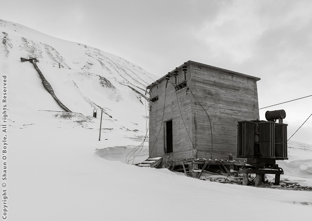 Coal Mine #5, Endalen, Spitsbergen, Svalbard