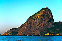 view of the sugar loaf mountain in rio de janeiro brazil