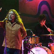VIENNA, VA - July 22nd,  2013 -  Robert Plant and Dave Smith perform at The Filene Center at Wolf Trap. Plant, the former Led Zeppelin singer and songwriter is currently touring with his new band, the Sensational Shape Shifters. (Photo by Kyle Gustafson/For The Washington Post)