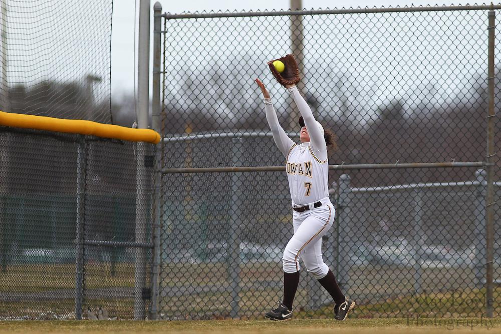 Rowan University Softball Junior Infielder/Outfielder Jennifer Arcella (7) - Ursinus College Softball vs Rowan University at Rowan University's Softball Field in Glassboro, NJ on Wednesday March 27, 2013. (photo / Mat Boyle)