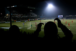 A general view of the Memorial Stadium as fans watch the Leasing.com fixture between Bristol Rovers and Leyton Orient - Mandatory by-line: Robbie Stephenson/JMP - 04/12/2019 - FOOTBALL - Memorial Stadium - Bristol, England - Bristol Rovers v Leyton Orient - Leasing.com Trophy