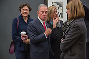 MAYOR OF NEW YORK MICHAEL BLOOMBERG , VIP Opening of Frieze Masters. Regents Park, London. 9 October 2012
