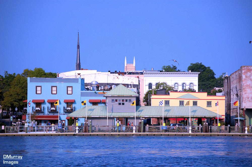 Riverwalk, Cape Fear River, Wilmington, North Carolina