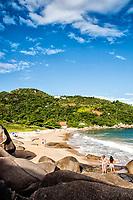 Praia da Tainha. Bombinhas, Santa Catarina, Brasil. / <br /> Tainha Beach. Bombinhas, Santa Catarina, Brazil.