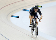 Ethan Mitchell competes in the (ME) sprint in the Avanti BikeNZ Classic, Avantidrome, Cambridge, New Zealand, Thursday, September 18, 2014, Credit: Dianne Manson/BikeNZ