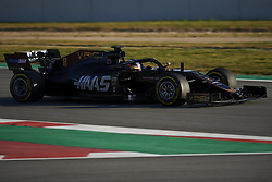 February 18, 2019 - Barcelona, Catalonia, Spain - Romain Grosjean of France driving the (8) Rich Energy Haas F1 Team during day one of F1 Winter Testing at Circuit de Catalunya on February 18, 2019 in Montmelo, Spain. (Credit Image: © Jose Breton/NurPhoto via ZUMA Press)