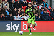 Forest Green Rovers Dominic Bernard(3) runs forward during the EFL Sky Bet League 2 match between Exeter City and Forest Green Rovers at St James' Park, Exeter, England on 12 October 2019.