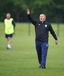 CARDIFF, WALES - Saturday, May 19, 2012: Paul Jewell during an FAW Coaching course at the Glamorgan Sports Park. (Pic by David Rawcliffe/Propaganda)