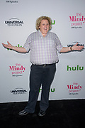 FORTUNE FEIMSTER attends The Mindy Project 100th Episode Party at E.P. & L.P. in West Hollywood, California.