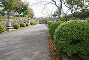 Japan, Honshu Island, Kanagawa Prefecture, Fuji Hakone National Park, Japanese garden