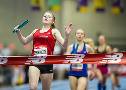 New Balance Indoor Grand Prix track & field, Girls Sprint Medley relay