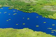 Aerial photos of Alepu lake