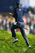 Justin Thomas (Usa) during the saturday morning fourballs session of Ryder Cup 2018, at Golf National in Saint-Quentin-en-Yvelines, France, September 29, 2018 - Photo Philippe Millereau / KMSP / ProSportsImages / DPPI