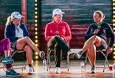 Pro Golfers at Fringe by the Sea, North Berwick,  6 August 2019