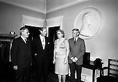 1967 - Henry Weldon of Boston, meeting Taoiseach Jack Lynch at Government Buildings