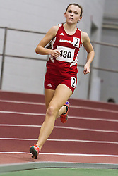 Boston University Multi-team indoor track & field, women one mile, heat 1, Sacred heart, 430