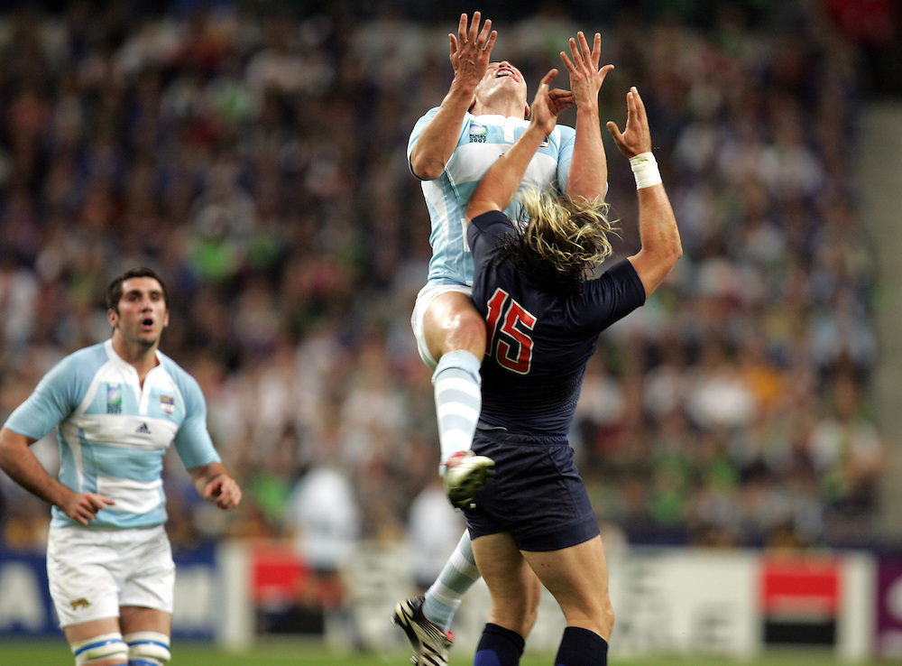 France v Argentina, Rugby World Cup 2007, Stade De France, St Denis. 7th September 2007.